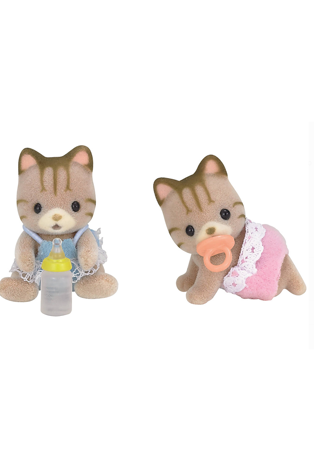 Calico Critters Sandy Cat Twins - Front Cropped Image