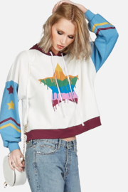 Lauren Moshi Sandy Dripping Star Pullover - Other