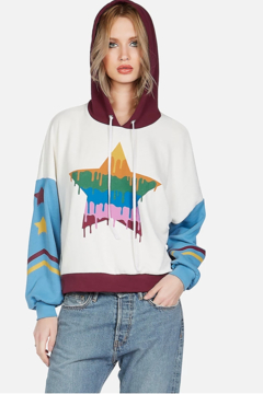Lauren Moshi Sandy Dripping Star Pullover - Product List Image