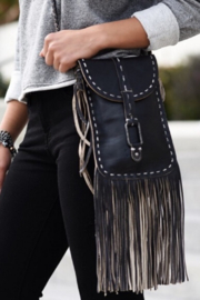 BED STU Sandy Lane Fringe Crossbody - Product Mini Image