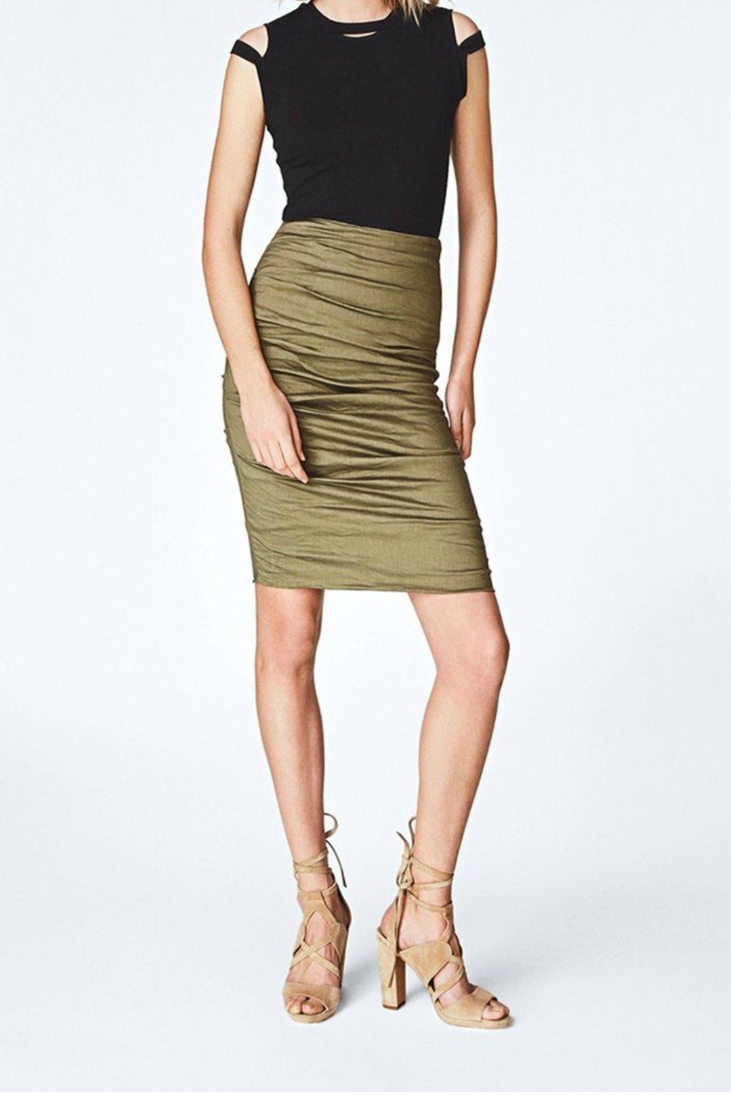 Nicole Miller Sandy Skirt - Front Cropped Image