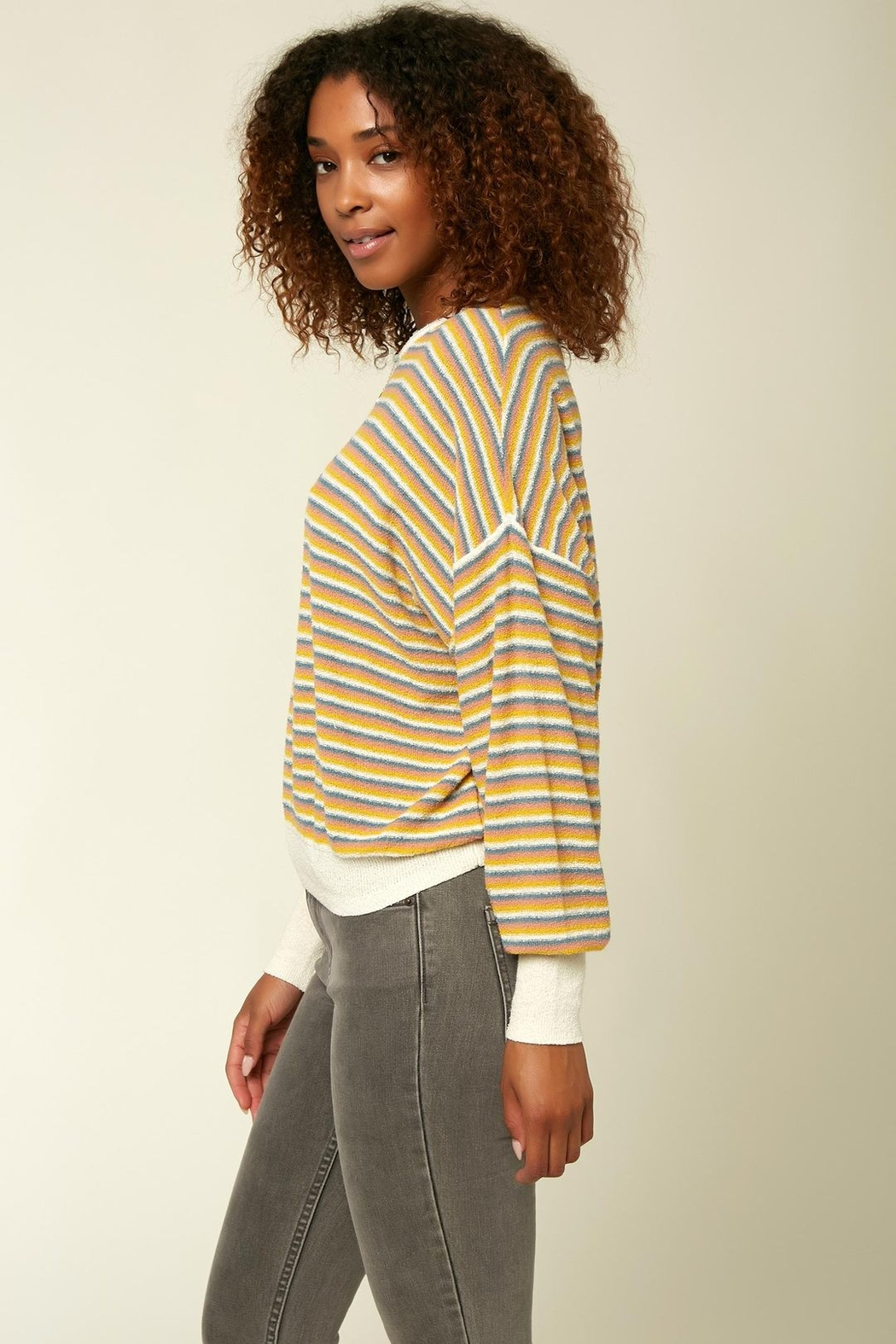 O'Neill Sandy Stripe Sweater - Main Image