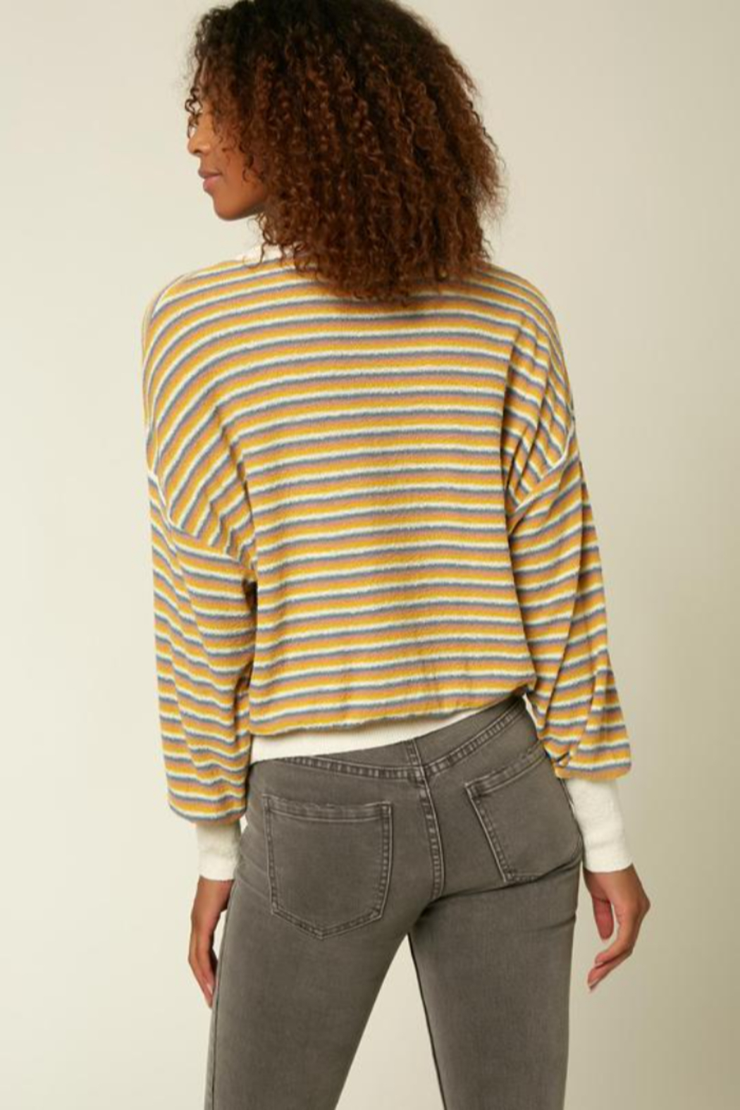 O'Neill Sandy Stripe Sweater - Side Cropped Image