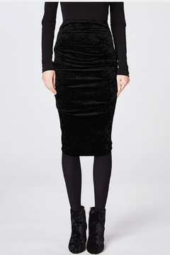 Nicole Miller Sandy Velvet Skirt - Alternate List Image