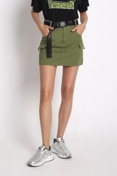 Shoptiques Product: Belted Mini Skirt