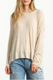 Sans Souci Boxy Ribbed Top - Product Mini Image