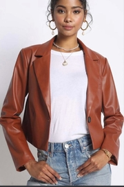 Sans Souci Crop Rust Jacket - Product Mini Image