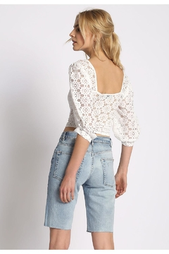 Sans Souci Lace L.S. Blouse - Alternate List Image