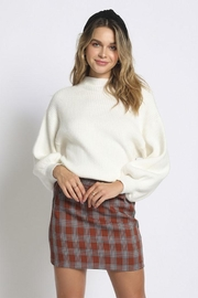 Sans Souci Mock Neck Sweater - Front cropped
