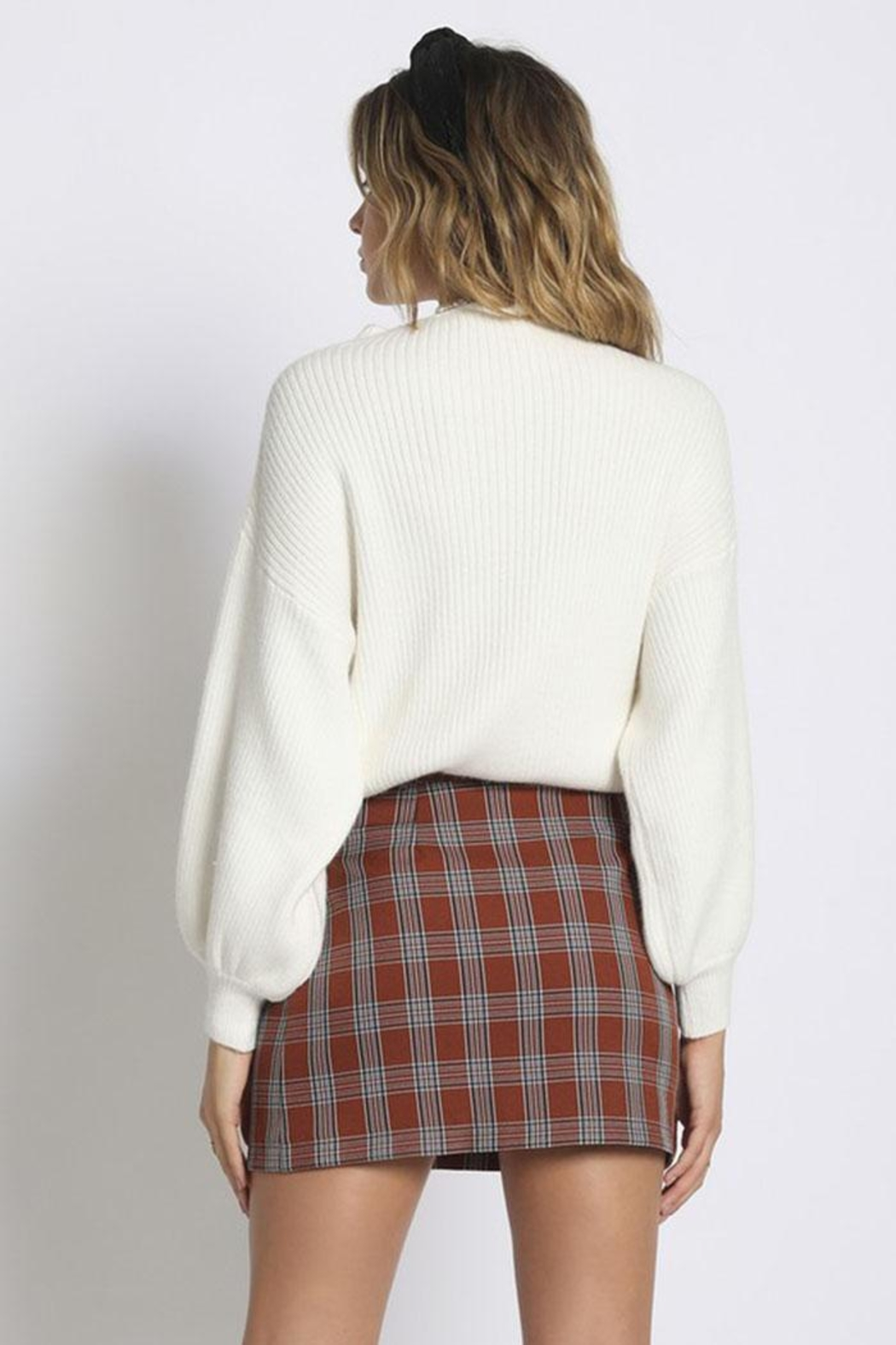 Sans Souci Mock Neck Sweater - Side Cropped Image