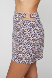 Sans Souci O Ring Cut Out Skirt - Back cropped
