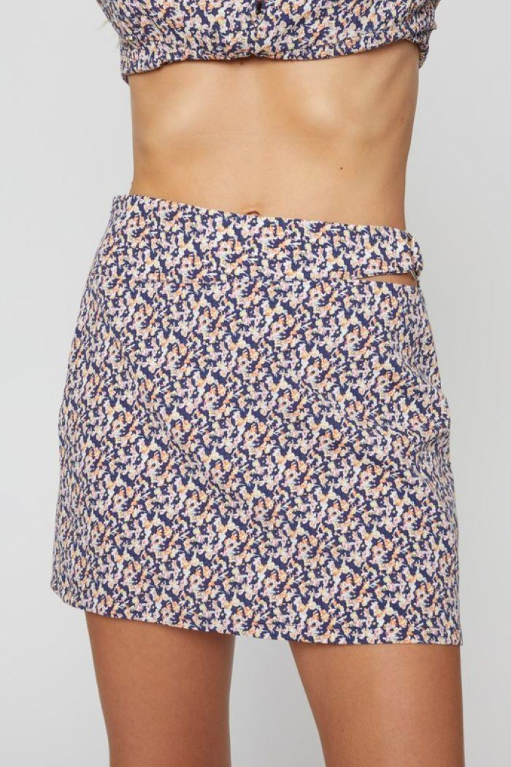 Sans Souci O Ring Cut Out Skirt - Main Image