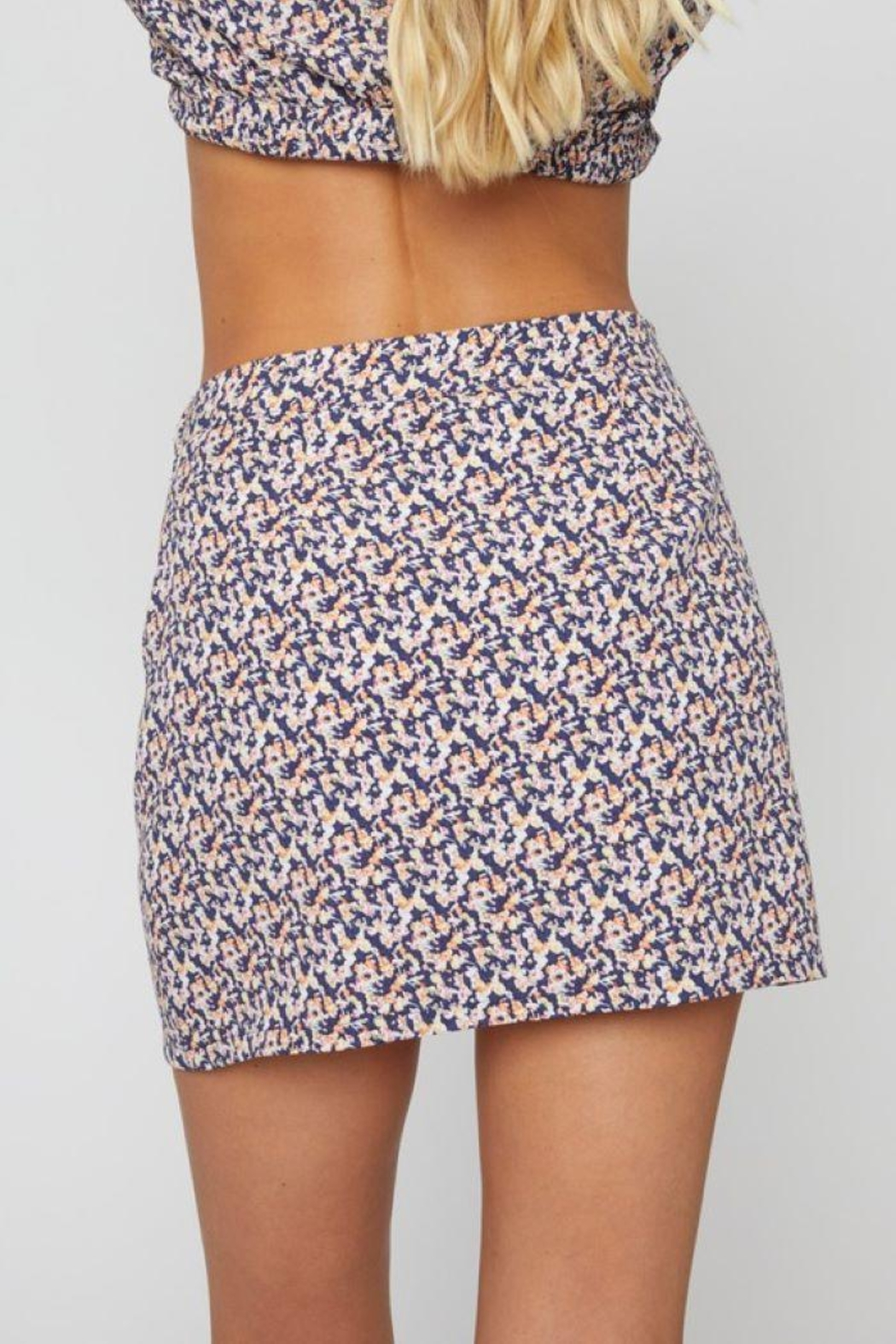 Sans Souci O Ring Cut Out Skirt - Front Full Image