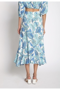 Sans Souci Ruffle Midi Skirt - Alternate List Image