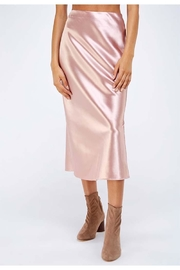 Sans Souci Satin Midi Dress - Product Mini Image