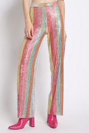 Sans Souci Sequin Pants - Product Mini Image