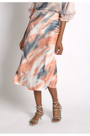 Sans Souci Tiger Midi Skirt - Front cropped
