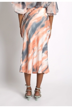 Sans Souci Tiger Midi Skirt - Alternate List Image