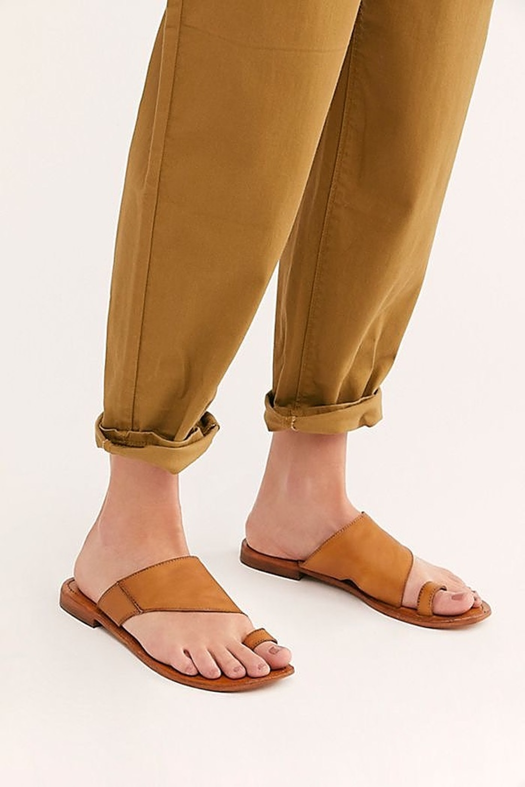 Free People Shoes Sant Antoni Slide Sandal - Front Full Image
