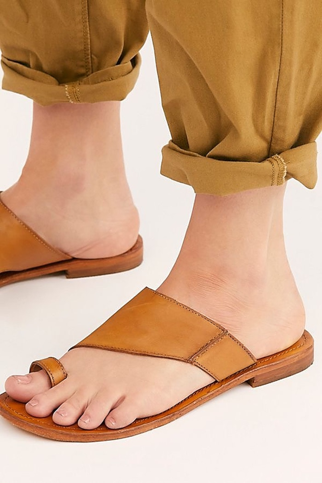 Free People Shoes Sant Antoni Slide Sandal - Side Cropped Image