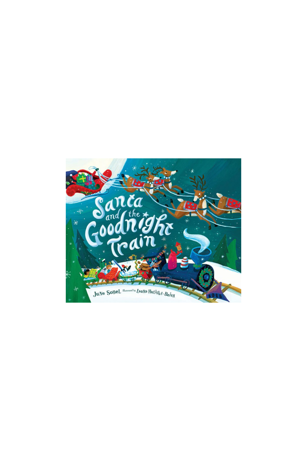 Houghton Mifflin Harcourt  Santa And The Goodnight Train - Main Image