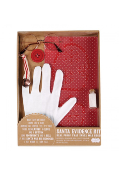 MudPie Santa Evidence Kit - Product List Image