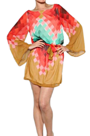 Auditions Santa Fe Geometric Dress - Front cropped