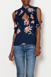 BB Dakota Santa Monica Cold Shoulder Top - Product Mini Image