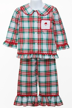 Banana Split Santa Pajama Set - Alternate List Image