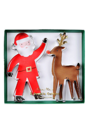 Meri Meri Santa Reindeer Cookie Cutter - Product Mini Image