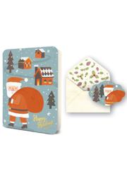 Studio oh! Santa's Toy Bag Card - Front cropped