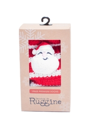 Ruggine Santa Sleep Socks - Front cropped
