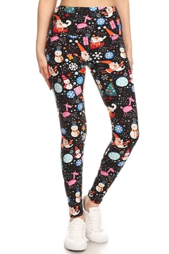 Shoptiques Product: Christmas Santa Legging