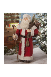 The Birds Nest SANTA W/ BAG OF TOYS - Front cropped