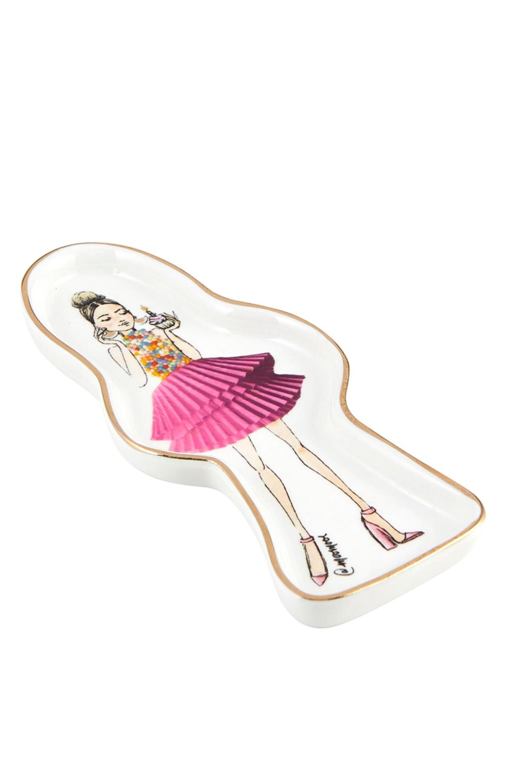 Santa Barbara Design Studio Birthday-Girl Trinket Tray - Front Full Image