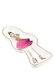 Santa Barbara Design Studio Birthday-Girl Trinket Tray - Front full body