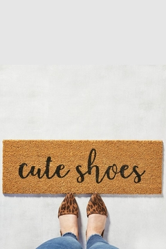 Shoptiques Product: Cute Shoes Mat