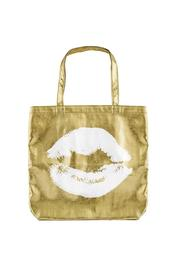 Santa Barbara Design Studio Kiss Gold Tote - Product Mini Image