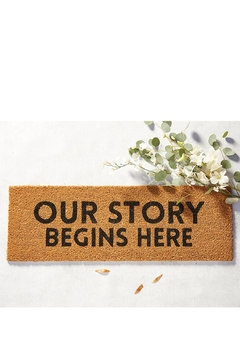 Shoptiques Product: Story Door Mat