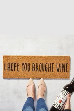 Shoptiques Product: Wine Door Mat