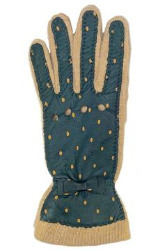Shoptiques Product: Hunter Dots Leather Gloves