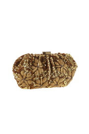 Santi Gold Flowers Clutch - Front full body