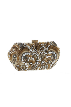 Shoptiques Product: Gold Pearl Clutch