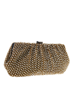 Shoptiques Product: Gold Beads Pearl Clutch