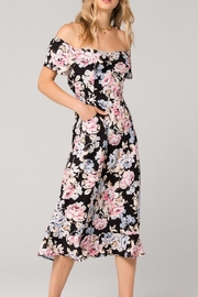 Band Of Gypsies Santiago Floral Dress - Product Mini Image