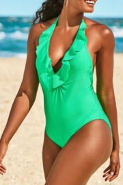 Lilly Pulitzer  Santiana One-Piece Swimsuit - Back cropped