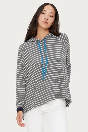 Michael Stars Santos Striped Hoodie - Front cropped