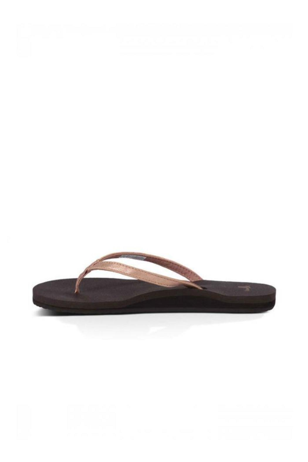 ebc4542316c2 Sanuk Yoga Joy Flip Flop from Tennessee by Lori s Family Footwear ...