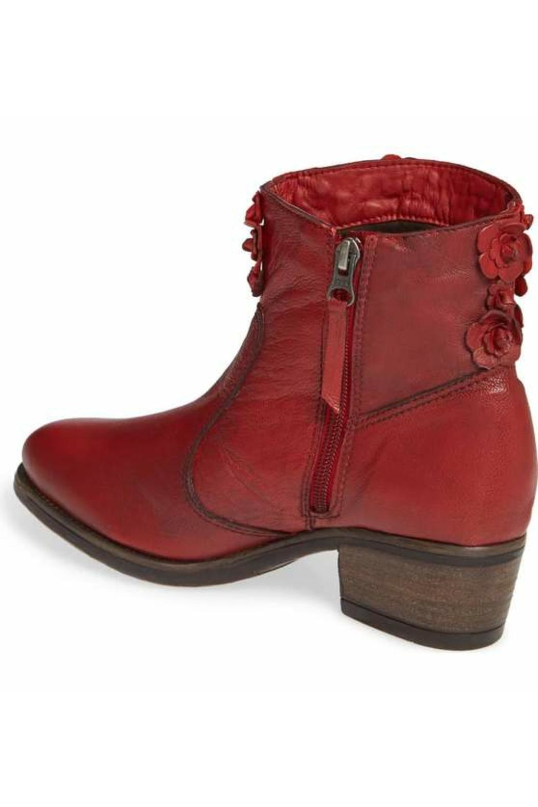 Sheridan Mia Saphire Red Bootie - Front Full Image