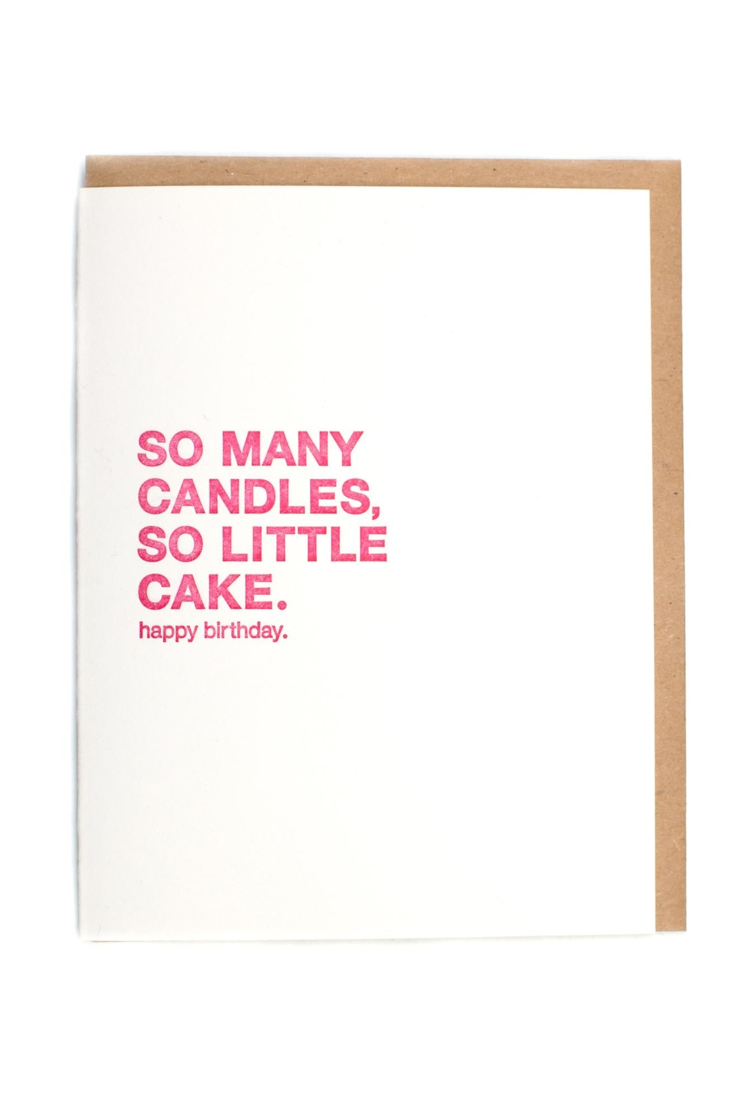 Sapling Press Happy Birthday Card - Front Cropped Image